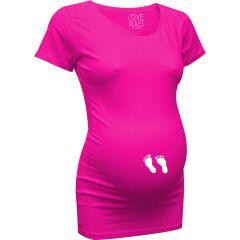 LoveRules - witziges T-Shirt mit Babyfüßchen...