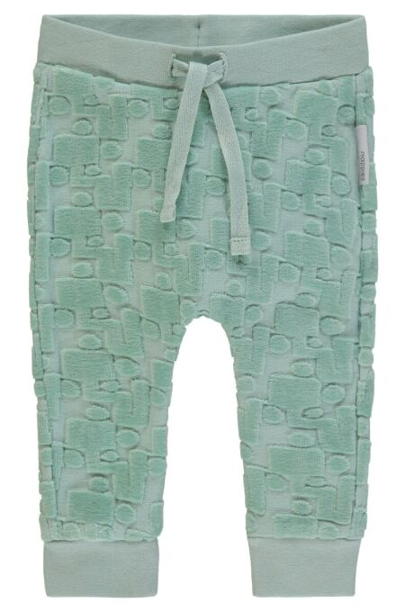 Noppies Baby - coole Jogginghose - Tarrant - grey mint 68