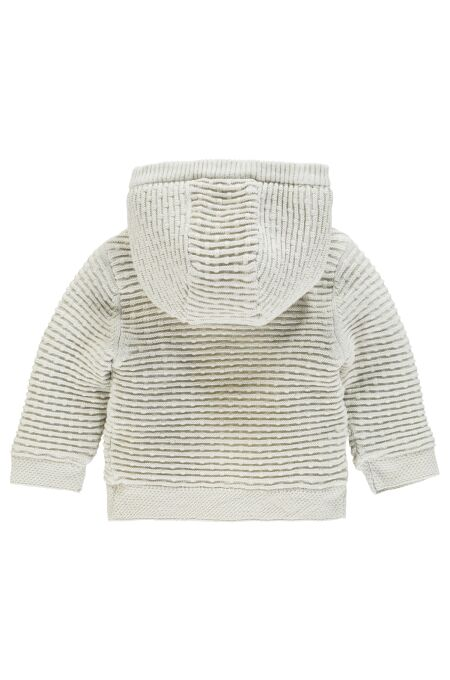Noppies Baby - kuschelige Strickjacke - Texas - dove 74