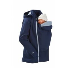 mamalila - Softshell Tragejacke - click it- navy-ice M