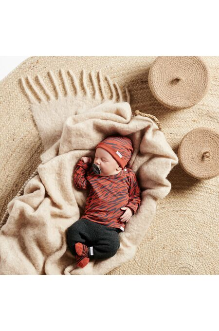 Noppies Baby- Hose Lux - dark grey melange