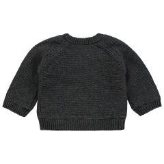 Noppies Baby- Strickjacke Dani - dark grey melange