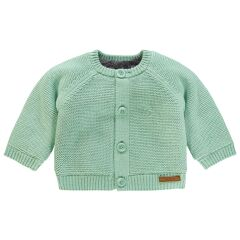 Noppies Baby- Strickjacke Lou - grey mint