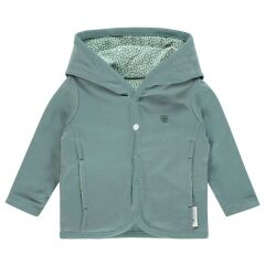 Noppies Baby-  Wende-Babyjacke - Haye - grey mint 50