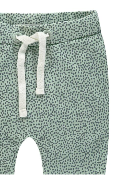 Noppies Baby- Hose- jersey loose Kirsten - grey mint