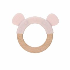 Lässig- Beißring - Teether Wood/Silicone - little chums...