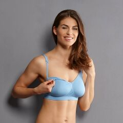 Anita - Seamless Still-BH ohne Bügel - powder blue XXL