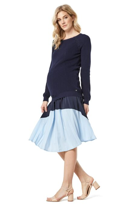Esprit -  Strick-Pulli mit Stillfunktion - night blue M