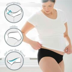 Medela - Schwangerschafts-Slip - 2er Pack -  white