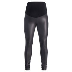 Supermom - coole Legging OTB Shine - black