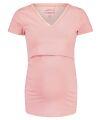 Noppies -Nightwear -Still-T-Shirt - Floor solid - silver pink