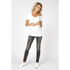 Noppies -Basic T-Shirt mit V-Ausschnitt - Rome - optical...
