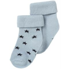 NoppiesBaby - Söckchen Napoli - 2er-Pack - grey blue...