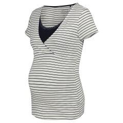 Noppies - Nightwear - gestreiftes Still-T-Shirt - Roos...