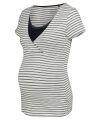 Noppies - Nightwear - gestreiftes Still-T-Shirt - Roos Stripe- night blue