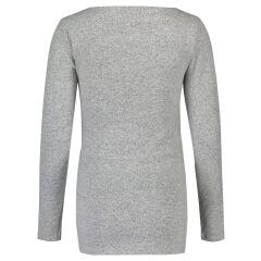 Noppies - kuschliger Still-Pulli - Lane - grey melange