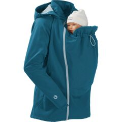 mamalila - Softshell Tragejacke - click it- teal