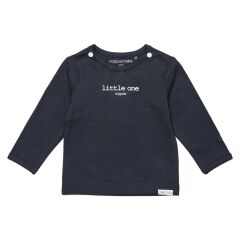 NoppiesBaby - Langarm-Shirt - Hester text - charcoal