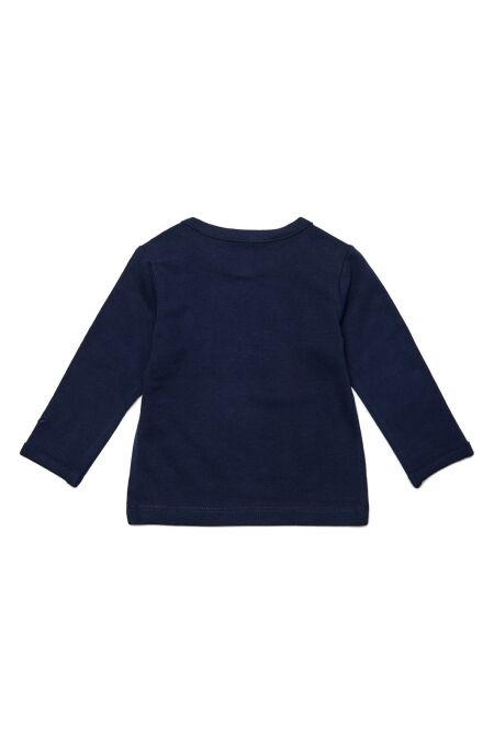 NoppiesBaby - Langarm-Shirt - Hester text - navy