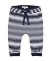 NoppiesBaby - gestreifte Hose jersey comfort - Nola - navy