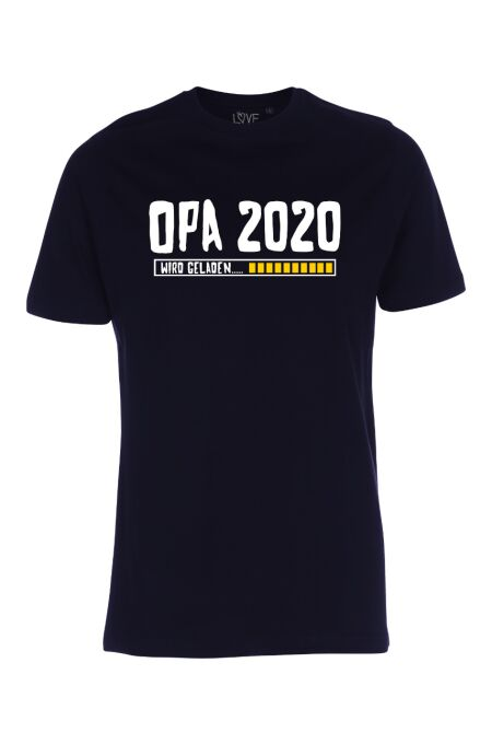 LoveRules- Statment-T-Shirt - OPA 2020 wird geladen...- deep blue XL