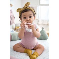 Lässig- Baby-Silikon-Beißhilfe - Teether...