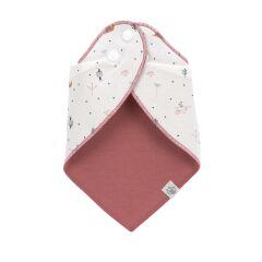 Lässig - Bandana, wasserabweisend - 2er Pack - Schnecke - rosa