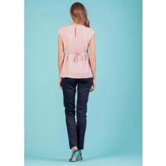 Attesa - schicke Hose mit Bügelfalte - Pantalone - night blue