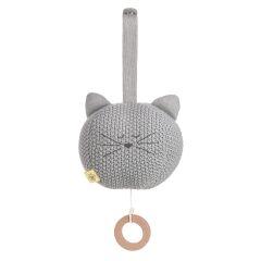 Lässig - Spieluhr - Knitted Musical Little Chums Cat...