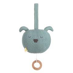 Lässig - Spieluhr - Knitted Musical Little Chums Dog...