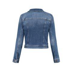 Love2Wait -  modische Jeansjacke - stone wash - denim blue