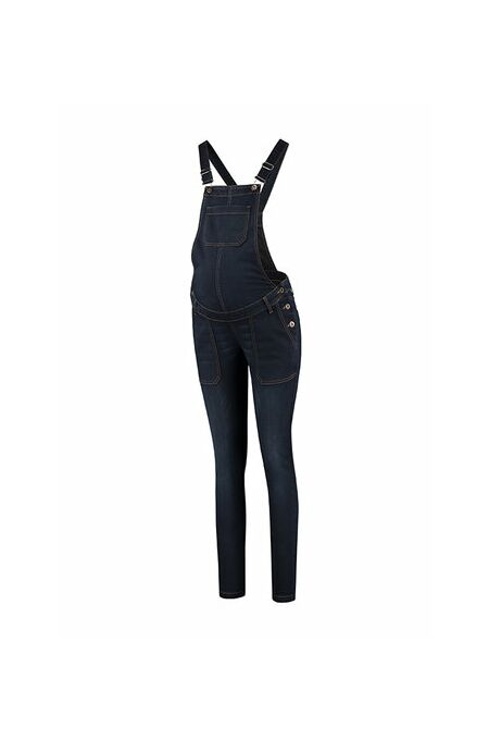 Love2Wait - Latzjeans Salopette Denim-Dark Wash