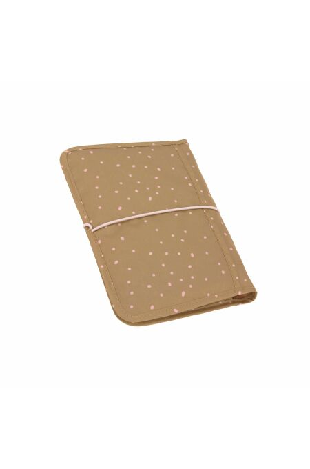 Lässig - Windeltasche - changing Pouch - Dots Curry