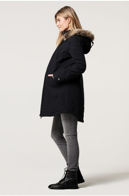 Noppies Umstandsjacke Malin 2-way black
