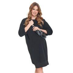 Kleid  für Schwangere -LOVE dress - black