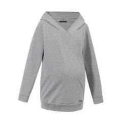 9Fashion-Stillsweatshirt Tejado - grey melange