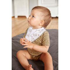 Lässig - Dreieckstuch Baby (2 Stk) -Bandana, Tiny...