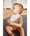 Lässig - Dreieckstuch Baby (2 Stk) -Bandana, Tiny Farmer Gans