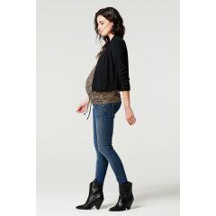 Supermom - skinny Jeans für Schwangere - Blue Denim