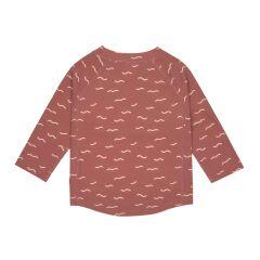 Lässig - UV Shirt Kinder - Langarm Rashguard - Waves Rosewood
