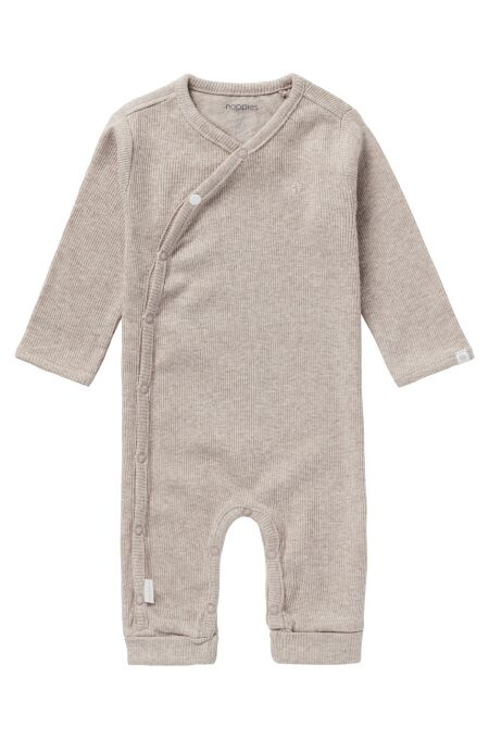 Noppies Baby - Playsuit Nevis - taupe melange