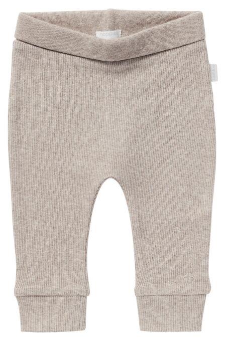 Noppies Baby - U Pants comfort rib - taupe melange