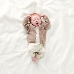 Noppies Baby - U Pants comfort rib - oatmeal