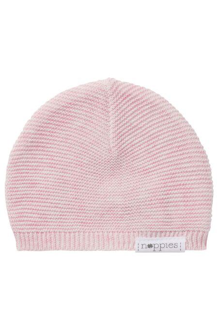Noppies Baby - Mütze Rosita - light rosa melange