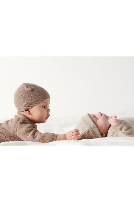 Noppies Baby - Mütze Rosita - taupe melange
