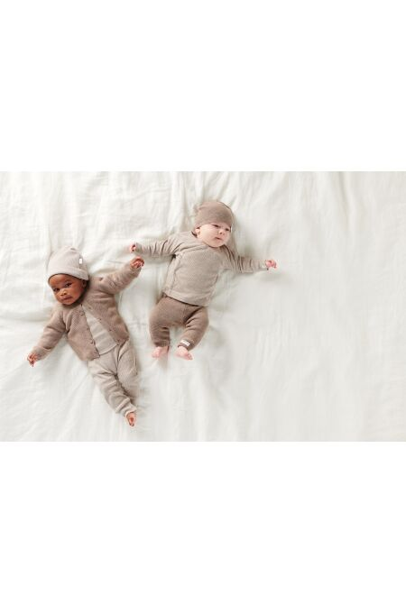 Noppies Baby - Hose - Grover - taupe melange