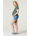 Supermom - Jeans Shorts  - light blue