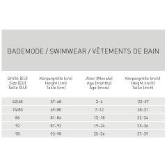 Lässig - Schwimm-Leggings Kinder - UV Schutz - rosewood