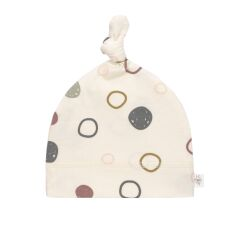 Lässig - Beanie - circles offwhite