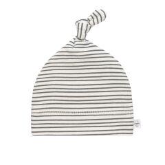Lässig - Beanie - striped grey
